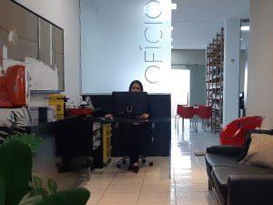 Recepção Agência Oficio